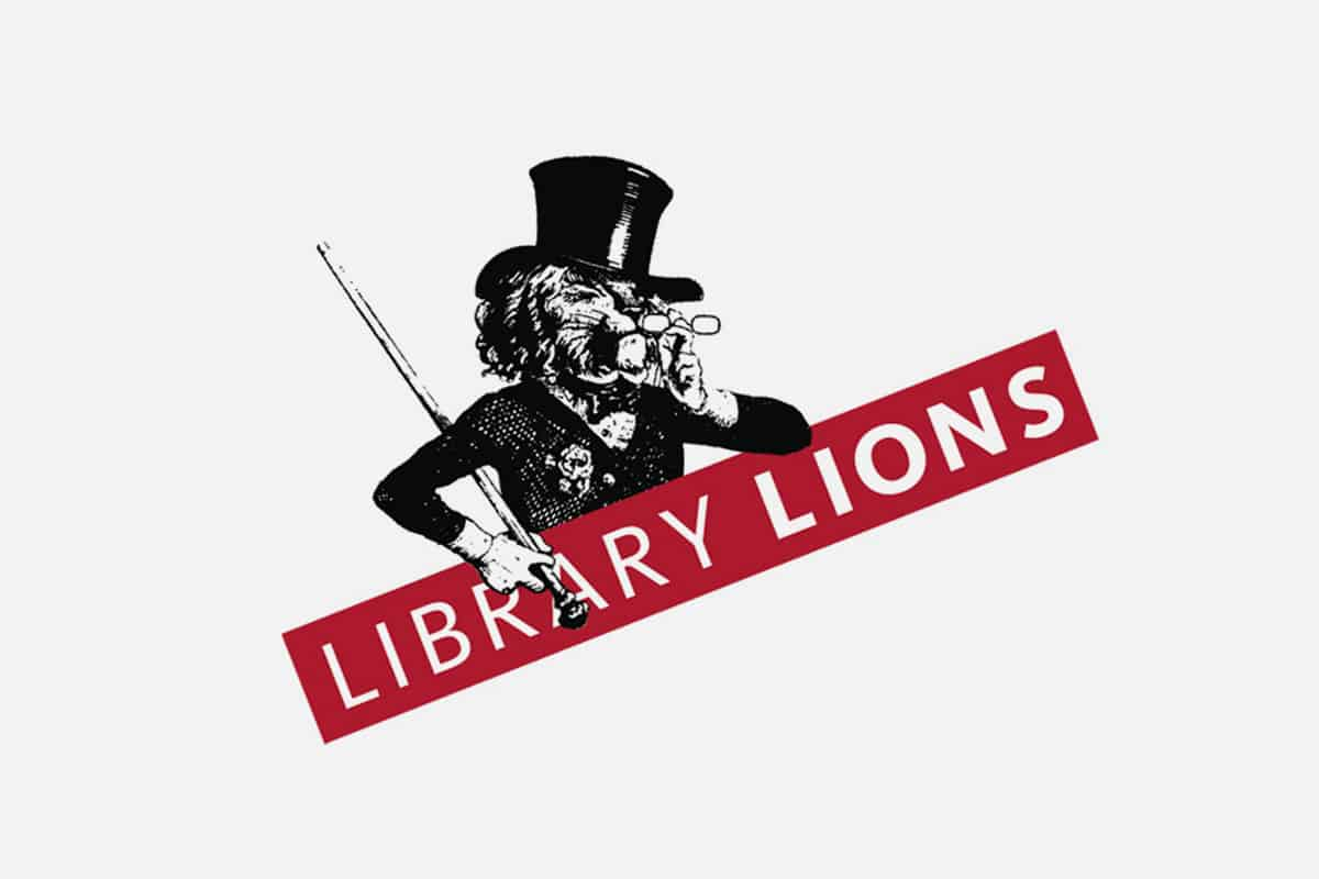 Library Lions identity | Art direction: Marc Blaustein, Design: Matt Poor